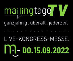 mailingtage 2022 · save the date